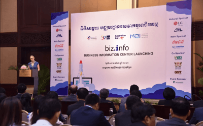 Business Information Center to Expedite Business Growth in Cambodia